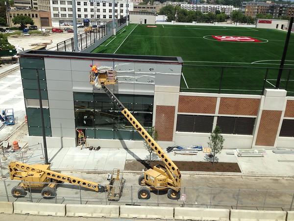 MSOE Parking Structure Construction